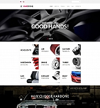 Шаблон сайта 63719  Популярные шаблоны  Автомобильные сайты