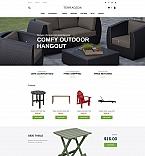 Интерьер и мебель. Шаблон сайта 63726