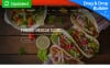 Responsivt Moto CMS 3-mall för mexikansk restaurang New Screenshots BIG