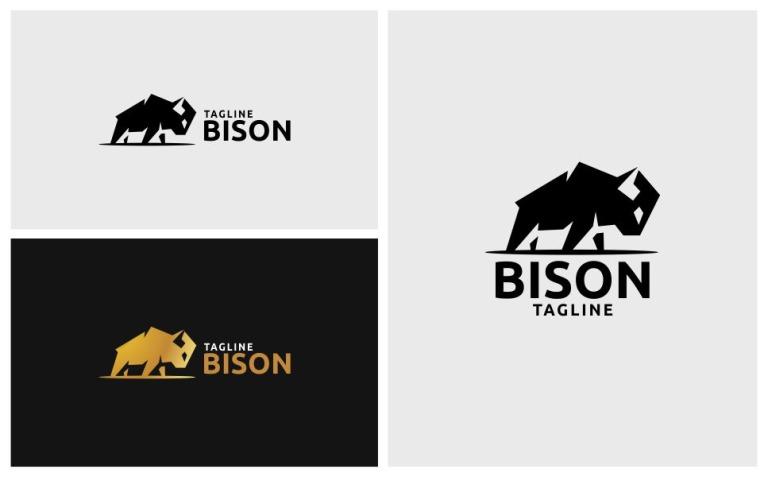 Bison Logo Logo Template New Screenshots BIG