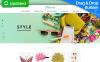 Modèle MotoCMS Pour Commerce électronique adaptatif  pour boutique de cadeaux New Screenshots BIG