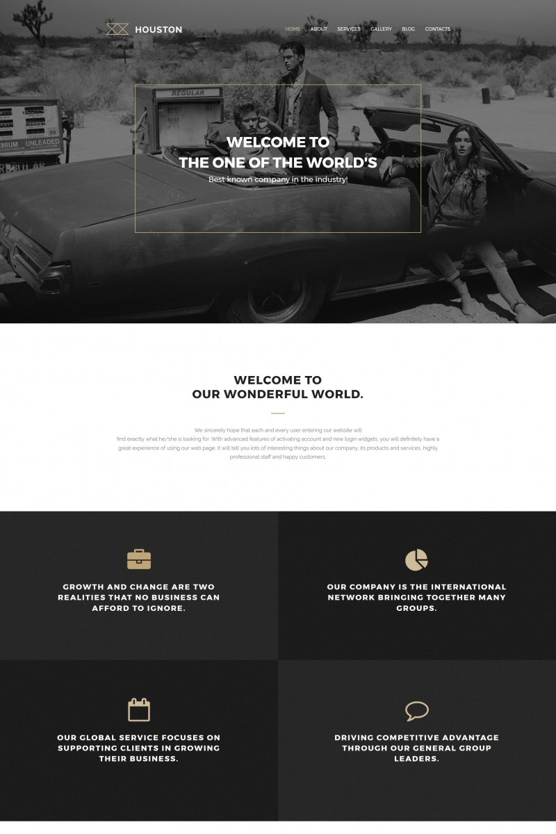Photo Studio Responsive Moto CMS 3 Template