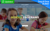 Responsive Moto CMS 3 Template over Basisschool New Screenshots BIG