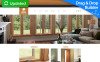 Responsive Moto CMS 3 Template over Interieur-design  New Screenshots BIG