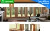 Responsive Moto CMS 3 Template over Interieur-design  New Screenshots BIG