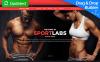 Responsive MotoCMS E-Commerce Vorlage für  Sportgeschäft New Screenshots BIG