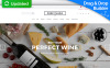 Responsive MotoCMS E-Commerce Vorlage für Wine  New Screenshots BIG