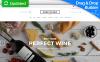 "Responzivní MotoCMS Ecommerce šablona ""Chef Plaza - Food & Wine Store"" New Screenshots BIG"