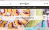Tema MotoCMS E-commerce Responsive #63747 per Un Sito di Negozio di Dolci New Screenshots BIG