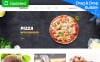 Templates Moto CMS 3 Flexível para Sites de Fast Food №63701 New Screenshots BIG