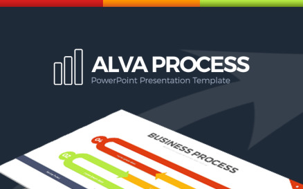 Alva Process PowerPoint Template