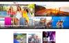 Responsivt WordPress-tema för nyhetsportal New Screenshots BIG