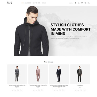 Preview image of Fashion VirtueMart Template No. 63887