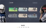 ALLSTAR - Víceúčelová Bootstrap 4 šablona pro weby o sportu