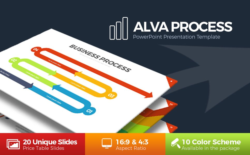 Alva process powerpoint template 63823 alva process powerpoint template new screenshots big cheaphphosting Gallery