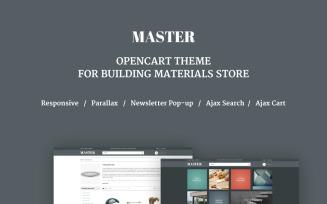 Building Materials Responsive OpenCart Template