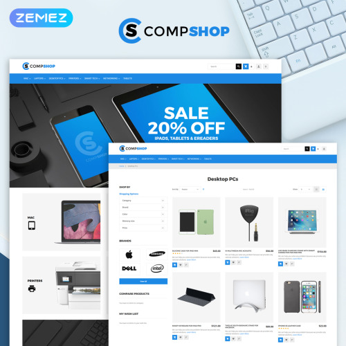 Compshop - HTML5 Magento Template