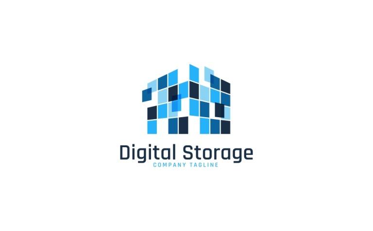 Digital Storage Logo Template New Screenshots BIG
