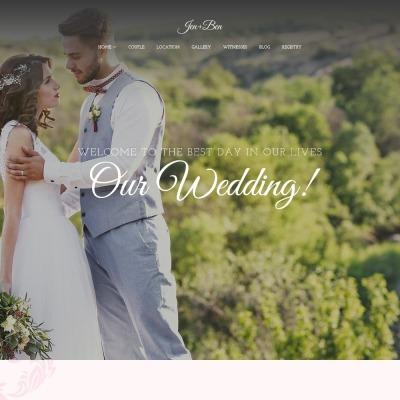 8+ Best Best Wedding Planner WordPress Themes 2018 | TemplateMonster