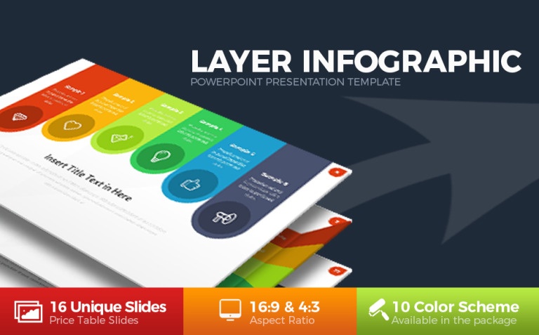 Layer Infographic PowerPoint Template New Screenshots BIG