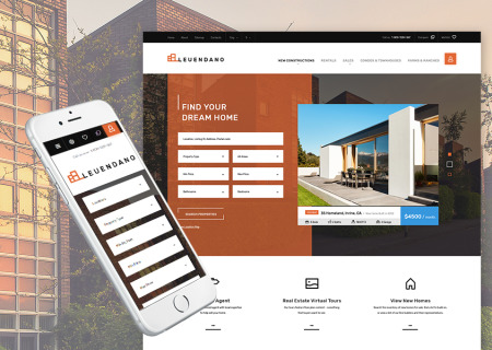 Leuendano - Real Estate Agency Responsive