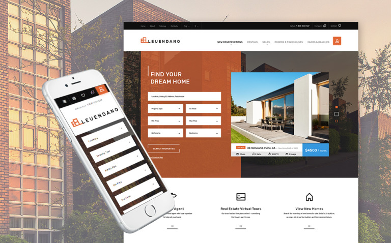 Leuendano - Real Estate Agency Responsive PrestaShop Theme New Screenshots BIG