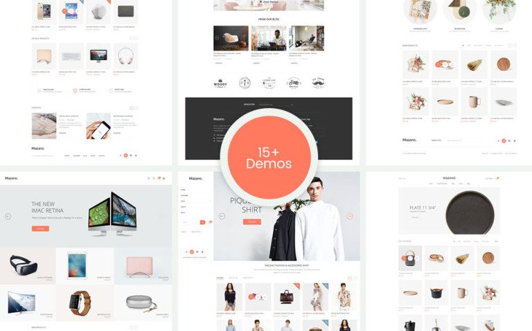 Mazano - Responsive, Minimalist Fashion, Furniture Shopify Theme New Screenshots BIG