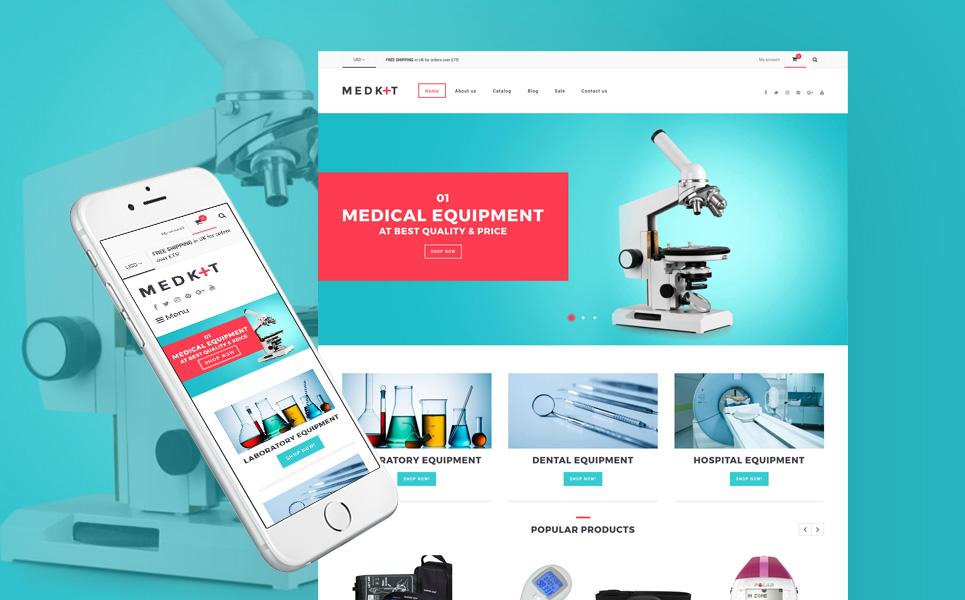 Medical Equipment Responsive Shopify Theme #63801
