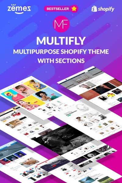 Fashion Store Responsive Shopify шаблон
