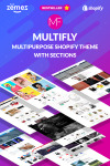 Multifly - Многоцелевой Shopify шаблон
