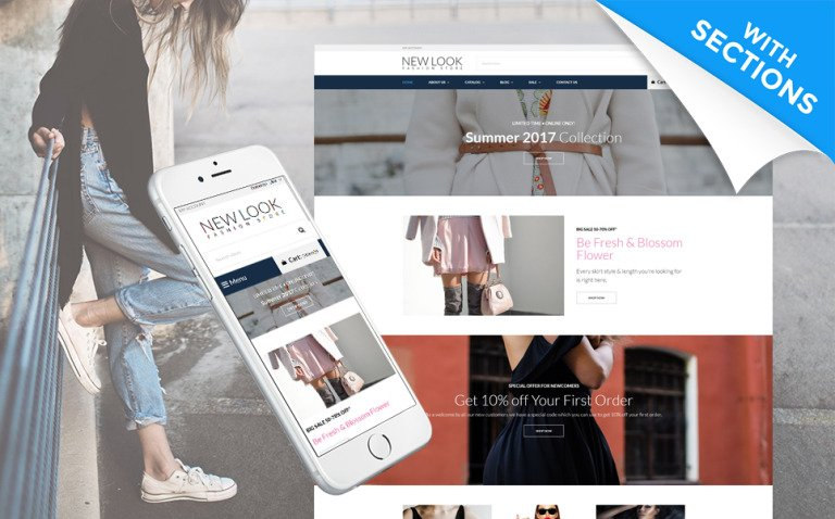 Multifly - Multipurpose Shopify Theme Big Screenshot