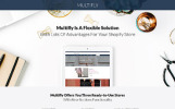 Multifly - Template Shopify de Multiplo Proposito para Lojas Online