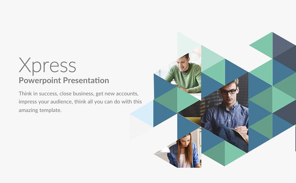 PowerPoint Vorlage #63886 für Business Services