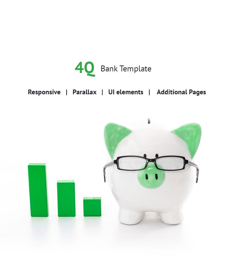 Joomla Vorlage #63834 für Bank