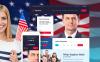 "Responzivní WordPress motiv ""Minister - Political Candidate Responsive"" New Screenshots BIG"