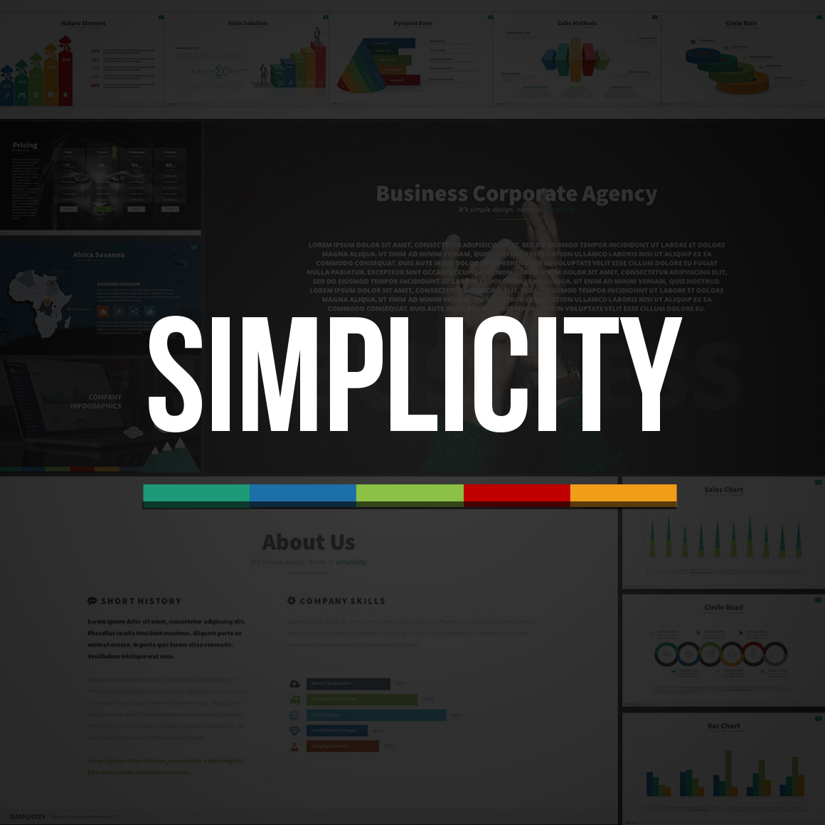Simplicity PowerPoint Template #63817