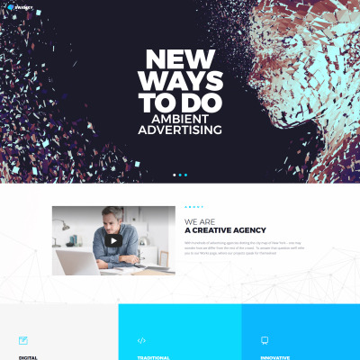 Temas WordPress para Sitios de Diseño Web