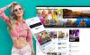 Thème WordPress adaptatif  pour site de nouvelles New Screenshots BIG