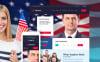 "WordPress шаблон ""Minister - Political Candidate Responsive"" New Screenshots BIG"