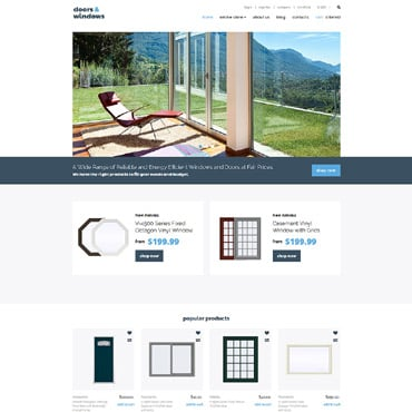 Preview image of Interior & Furniture VirtueMart Template No. 63915