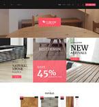 Интерьер и мебель. Шаблон сайта 63937