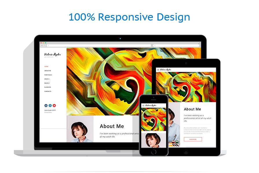 Modèles HTML5 Art et Photographie #63944