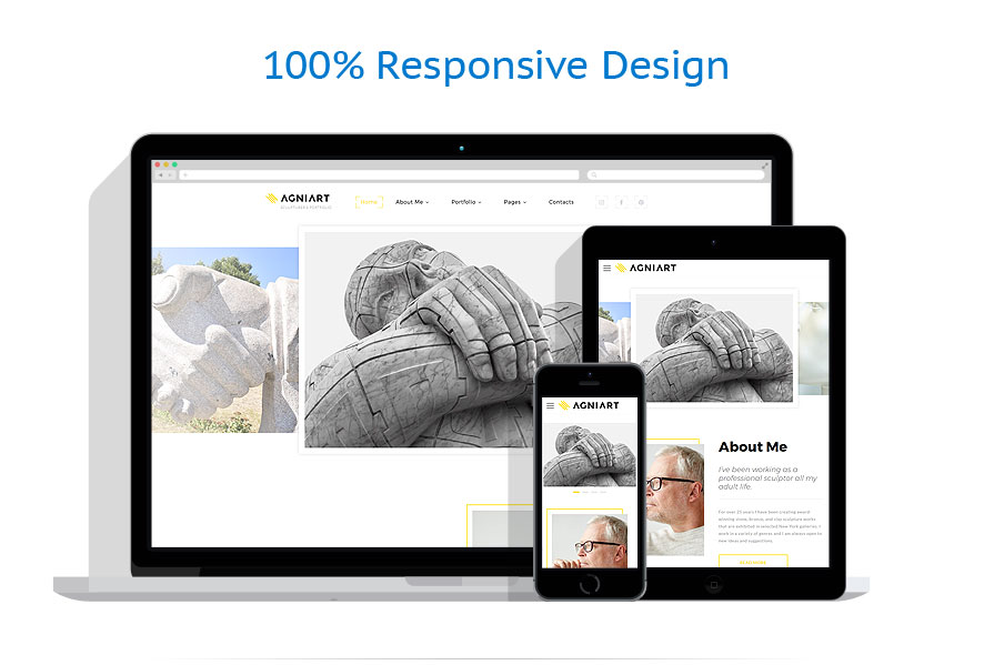 Modèles HTML5 Art et Photographie #63945