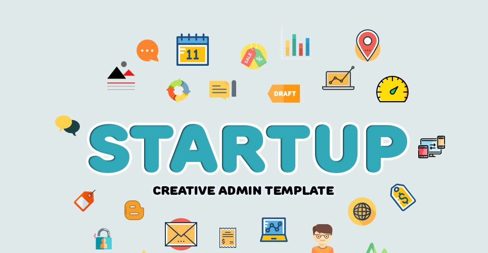 StartUp Admin Template