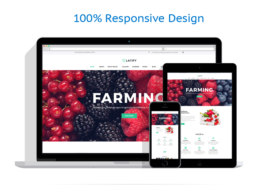 Thèmes WordPress Agriculture #63957