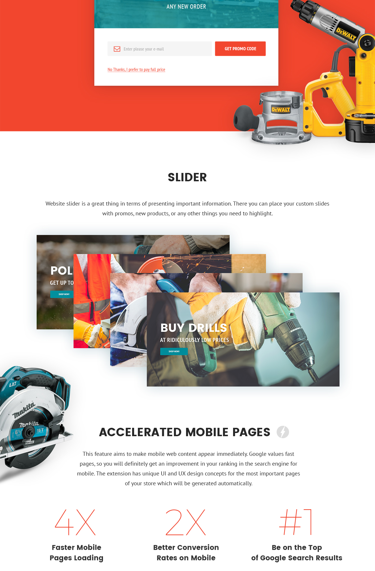Illin.co - Tools & Equipment Magento Theme