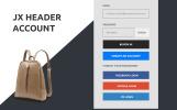 Адаптивний PrestaShop шаблон модного магазину