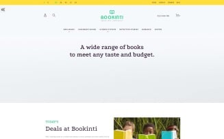 Bookinti - Book Store PrestaShop Theme
