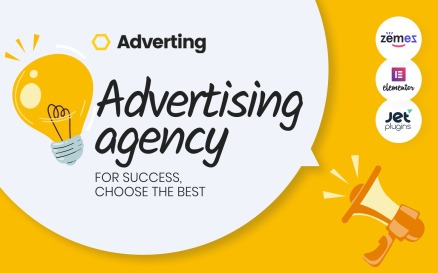 Adverting - Advertising Agency Responsive WordPress Theme