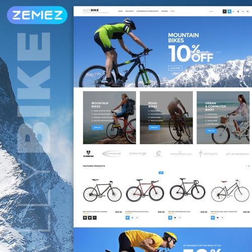 AllyBike - HTML5 Magento Template